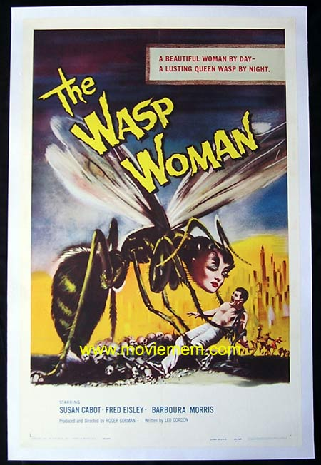 WASP WOMAN, The (1959) US One Sheet  RARE poster