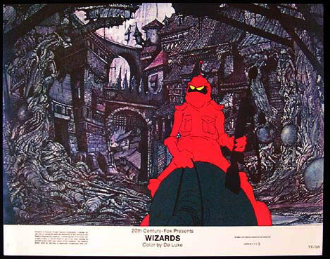 WIZARDS Movie Poster 1977 Ralph Bakshi Lobby Card 3