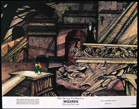 WIZARDS Movie Poster 1977 Ralph Bakshi Lobby Card 8