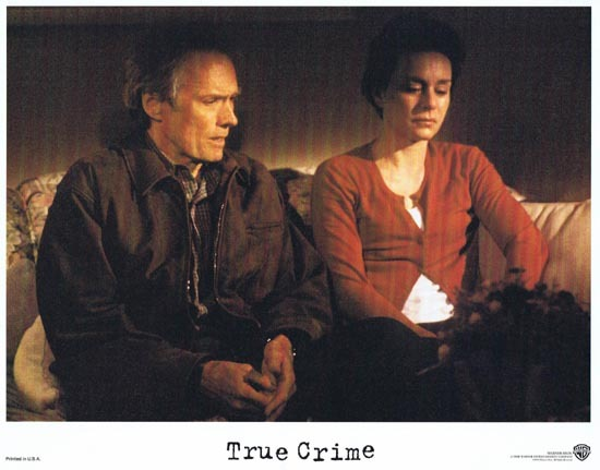 TRUE CRIME US Lobby card 2 1999 Clint Eastwood