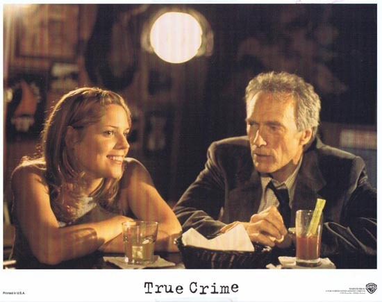 TRUE CRIME US Lobby card 6 1999 Clint Eastwood