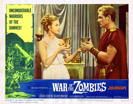 WAR OF THE ZOMBIES 1965 Susi Andersen Lobby Card 6