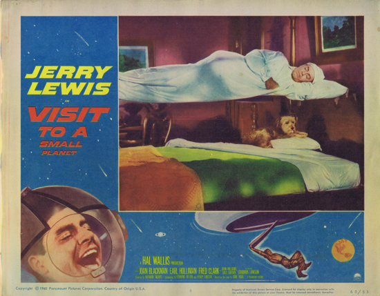 VISIT TO A SMALL PLANET Lobby Card 8 Jerry Lewis