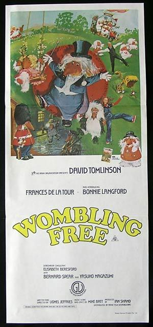 Wombling Free, Lionel Jeffries, Jon Pertwee, David Jason, Bonnie Langford, David Tomlinson, Frances de la Tour