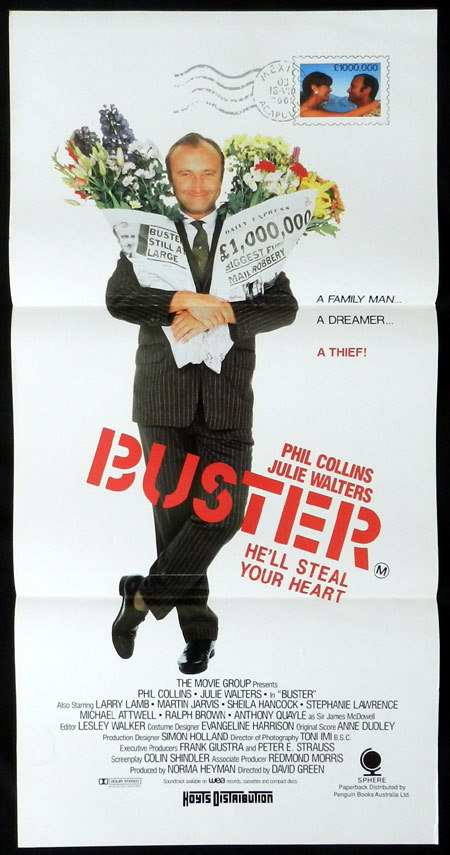 Buster, David Green, Phil Collins, Julie Walters, Larry Lamb, Stephanie Lawrence