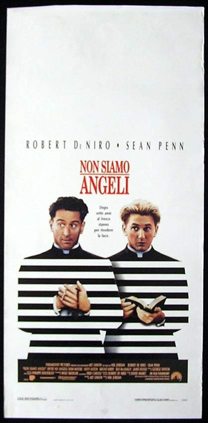 WE'RE NO ANGELS Italian Locandina Movie Poster Robert DeNiro Sean Penn