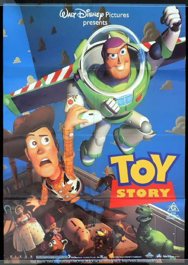 toy story one sheet movie poster disney buzz lightyear