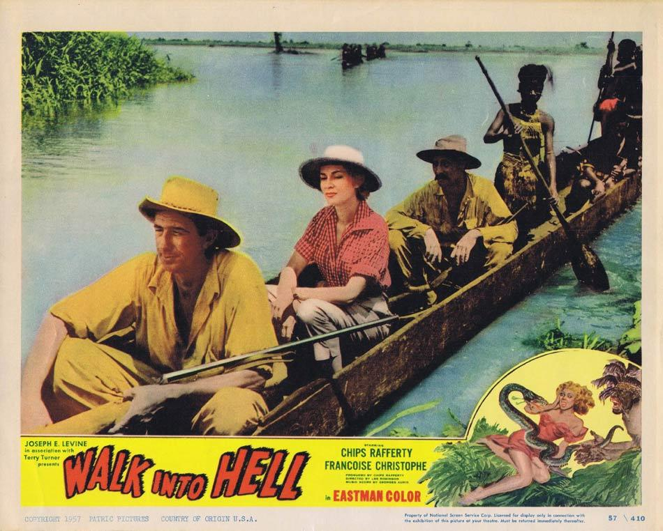 WALK INTO HELL aka WALK INTO PARADISE Lobby Card 8 Chips Rafferty