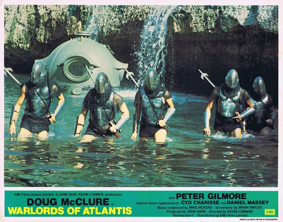 WARLORDS OF ATLANTIS Lobby Card 2 Doug McClure Science Fiction