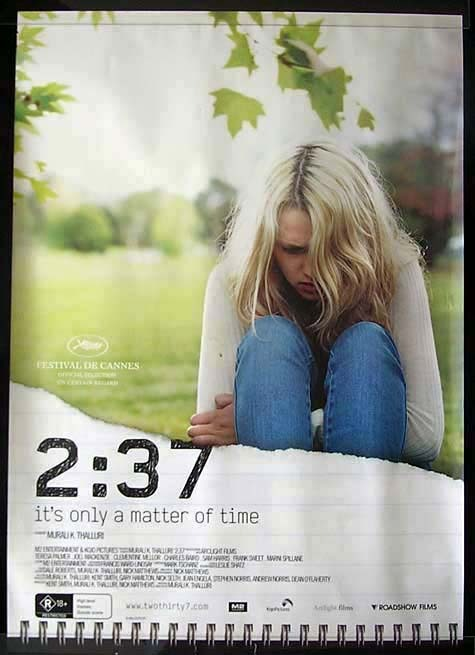 2:37 ITS ONLY A MATTER OF TIME Murali K. Thalluri Movie Poster Australian One sheet