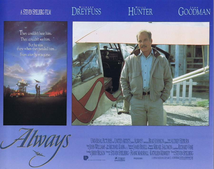 ALWAYS Lobby Card 2 Richard Dreyfuss Holly Hunter