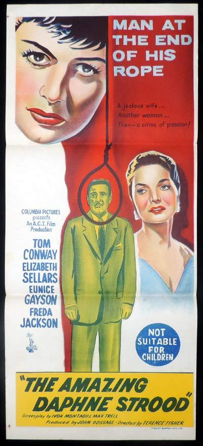 The Last Man to Hang?, Terence Fisher, Eunice Gayson, Tom Conway, Freda Jackson, Ronald Simpson, Hugh Latimer, Elizabeth Sellars