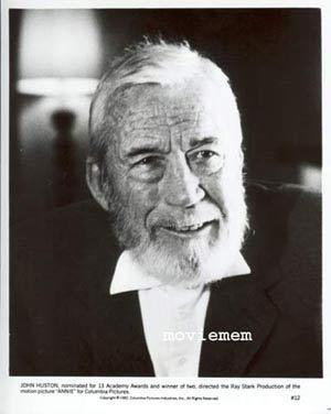 ANNIE Rare VIntage Movie Still #12 John Huston Portrait