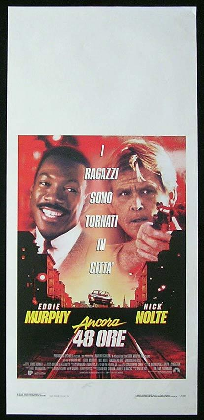 ANOTHER 48 HOURS Italian Locandina Movie Poster Eddie Murphy Nick Nolte