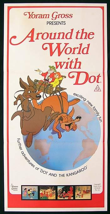 AROUND THE WORLD WITH DOT Daybill Movie Poster