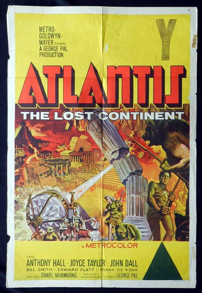 Atlantis, the Lost Continent, George Pal, Sal Ponti, Joyce Taylor, John Dall, William Smith