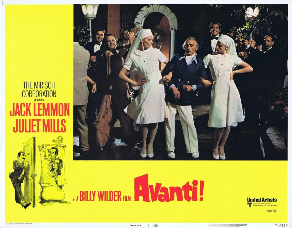 Avanti!, Billy Wilder, Jack Lemmon Juliet Mills