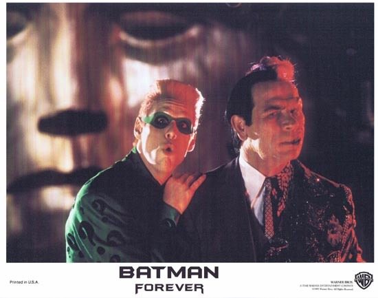 BATMAN FOREVER 1995 Jim Carrey Lobby Card 4