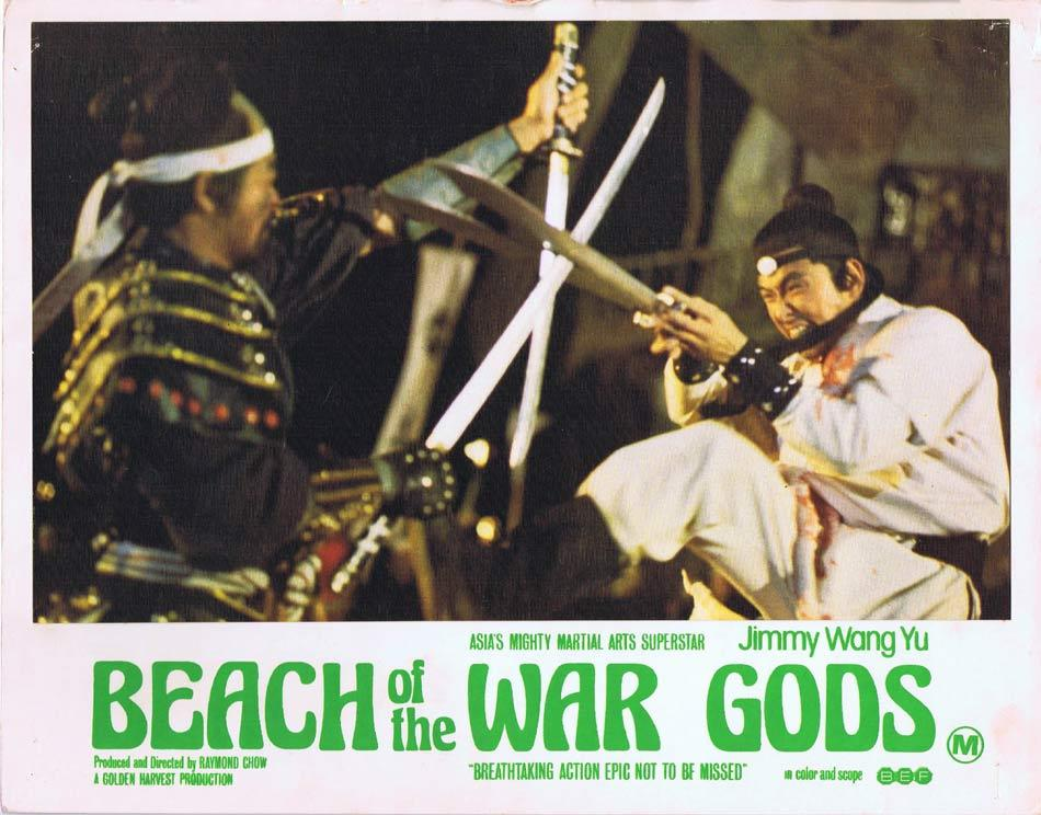 BEACH OF THE WAR GODS Lobby Card 1 Jimmy Wang Yu