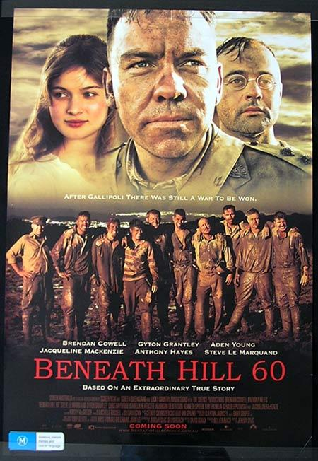 Beneath Hill 60 Movie Poster 2010 Jeremy Sims