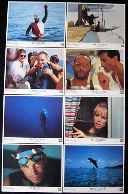 THE BIG BLUE Lobby card Set 1988 Luc Besson