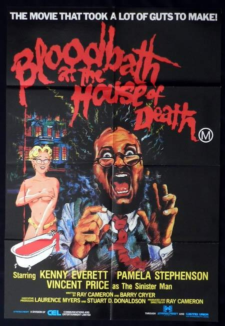 BLOODBATH AT THE HOUSE OF DEATH Original One sheet Movie Poster Kenny Everett