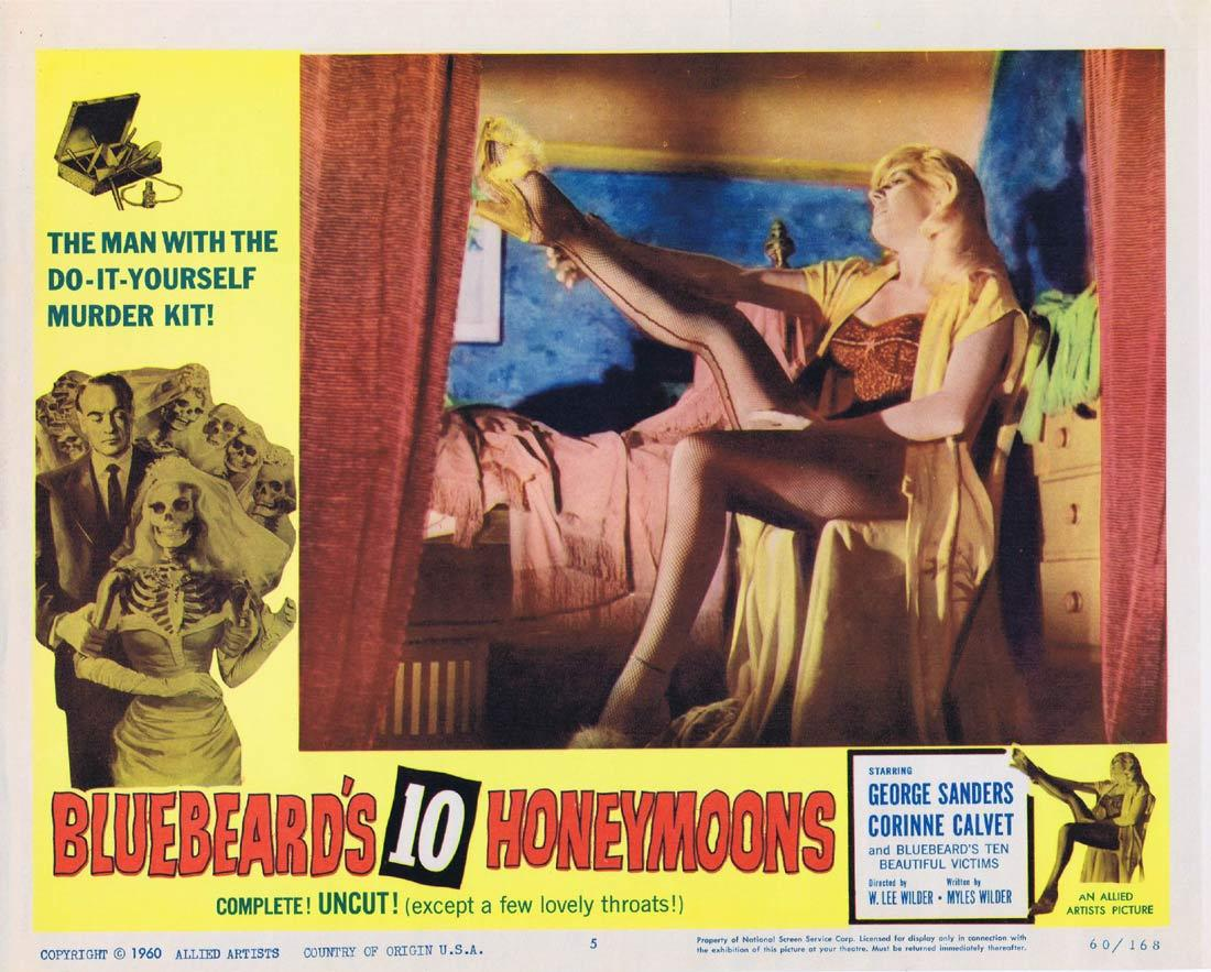 Bluebeard's Ten Honeymoons, George Sanders, Corinne Calvet, Jean Kent
