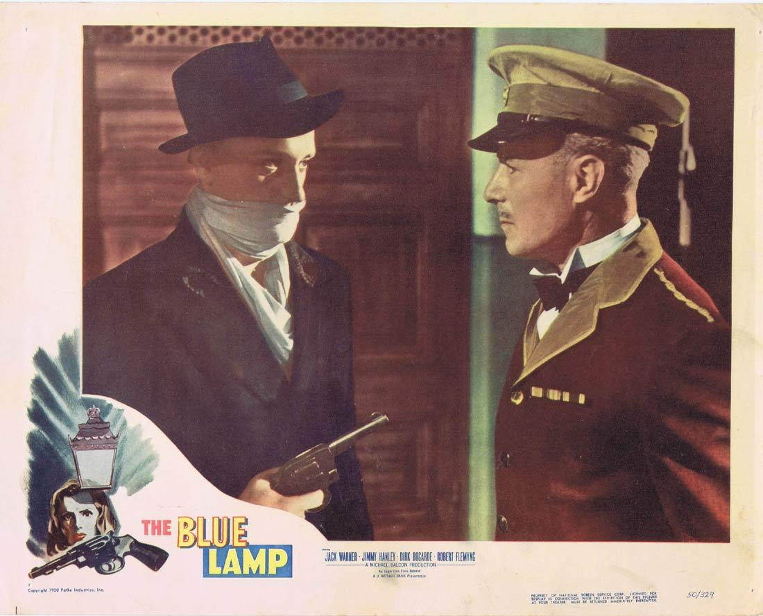 THE BLUE LAMP Lobby Card 2 Jack Warner Jimmy Hanley Dirk Bogarde