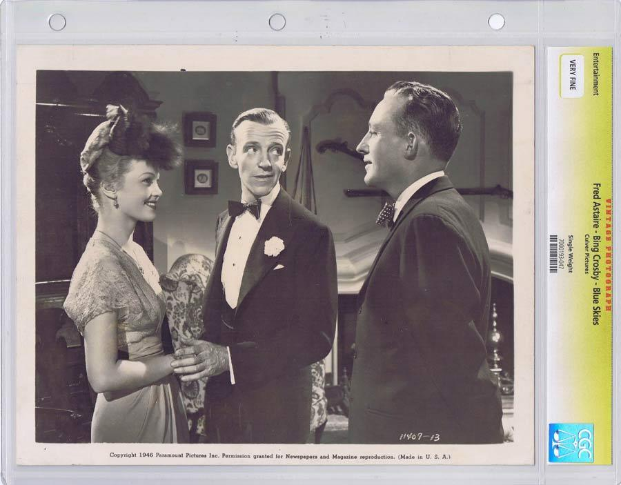 BLUE SKIES Vintage Movie Still FRED ASTAIRE CGC Graded