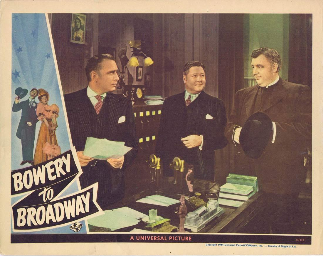 BOWERY TO BROADWAY Vintage Lobby Card Andy Devine Jack Oakie