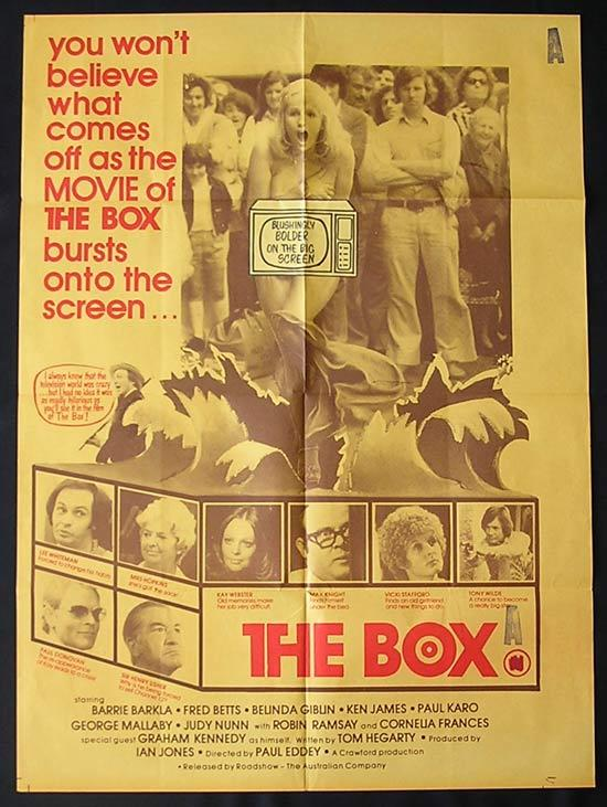 BOX, The '75-Graham Kennedy ORIGINAL 1 sheet poster