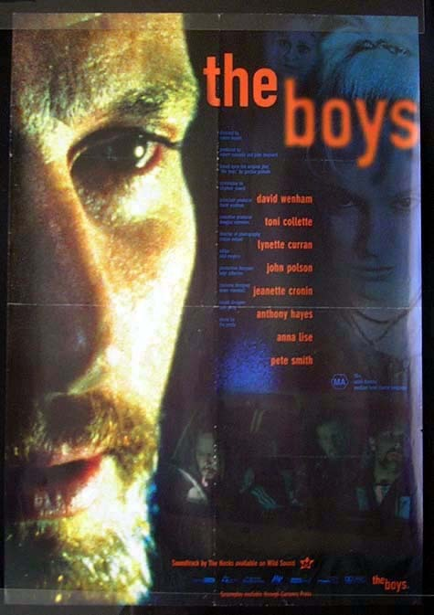 THE BOYS David Wenham Toni Collette Movie Poster Australian One sheet
