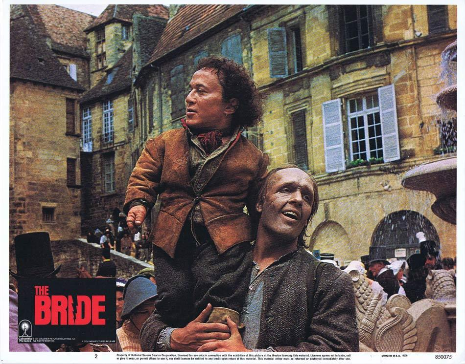 THE BRIDE Lobby Card 2 Sting Jennifer Beals Anthony Higgins