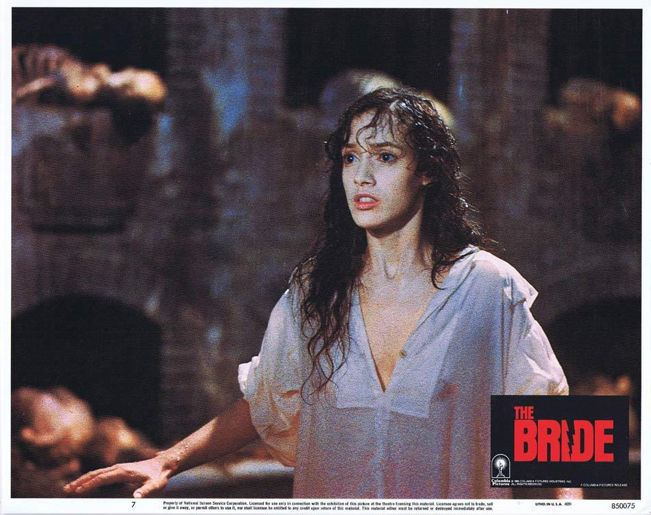THE BRIDE Lobby Card 7 Sting Jennifer Beals Anthony Higgins