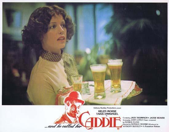 Caddie (film) CADDIE 1976 Australian Lobby Card 6 Jack Thompson Helen Morse