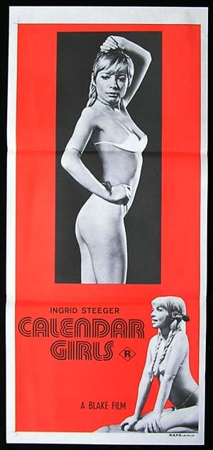 CALENDER GIRLS '70-Ingrid Steeger SEXPLOITATION-poster