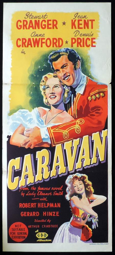 CARAVAN Original Daybill Movie Poster