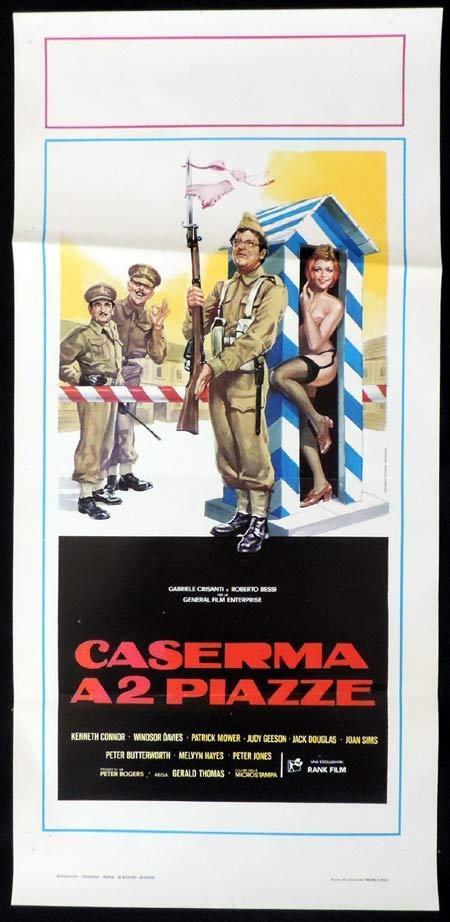 CARRY ON ENGLAND Italian Locandina Movie Poster Kenneth Connor