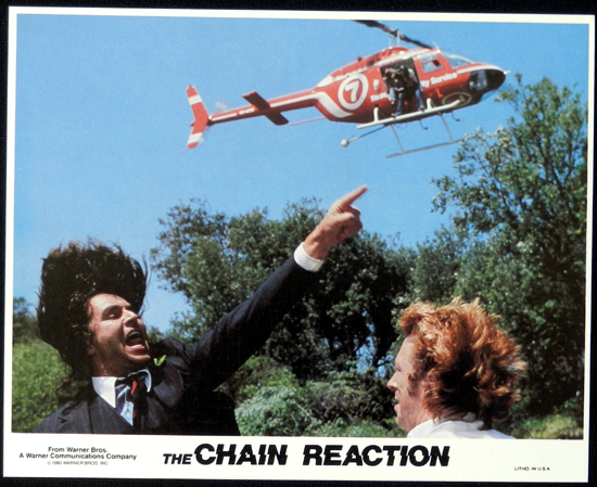 CHAIN REACTION, The 1980 Steve Bisley VERY RARE US Movie Still 4