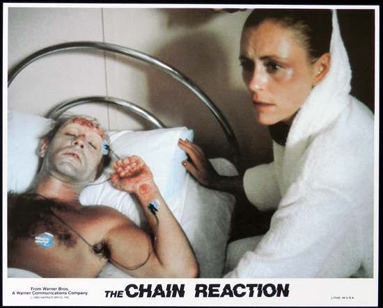 CHAIN REACTION, The 1980 Steve Bisley VERY RARE US Movie Still 9
