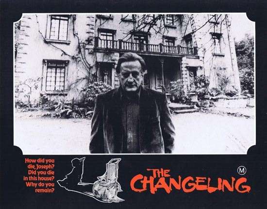 THE CHANGELING 1980 George C.Scott HORROR Lobby Card 5