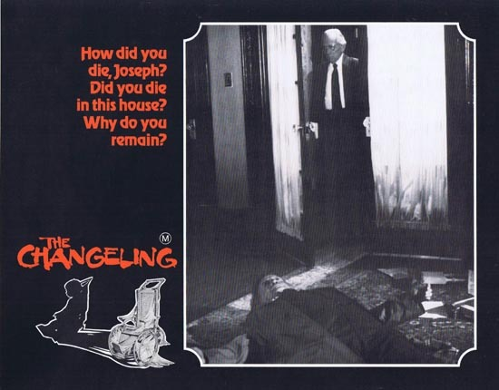 THE CHANGELING 1980 George C.Scott HORROR Lobby Card 7