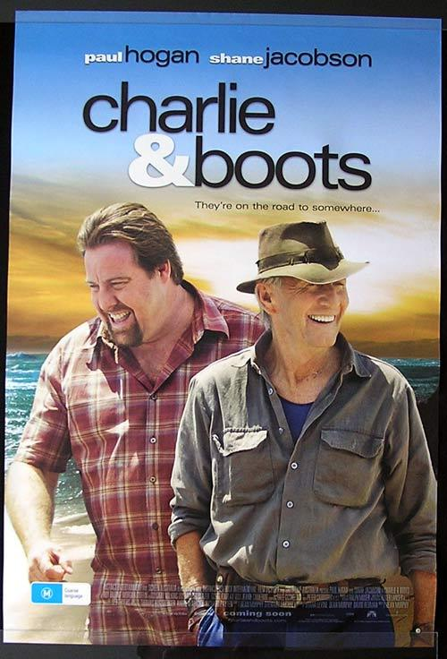 CHARLIE AND BOOTS Movie poster 2009 Paul Hogan One Sheet