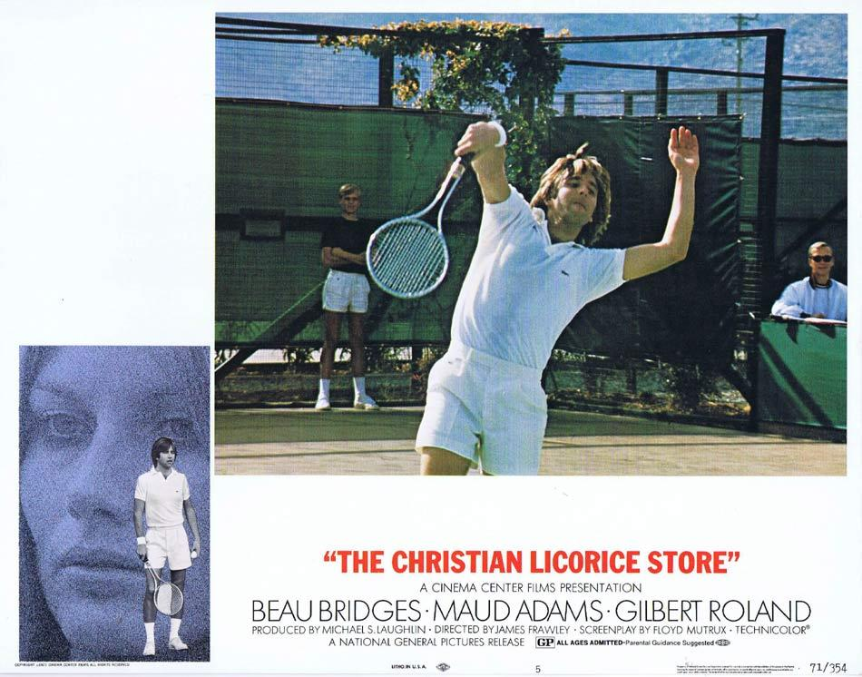 THE CHRISTIAN LICORICE STORE Lobby Card 5 Beau Bridges Maud Adams