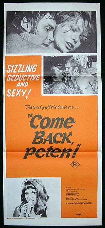 SOME LIKE IT SEXY aka COME BACK PETER '69-daybill