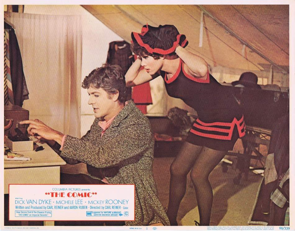 THE COMIC Lobby Card 5 Dick Van Dyke Mickey Rooney Michele Lee