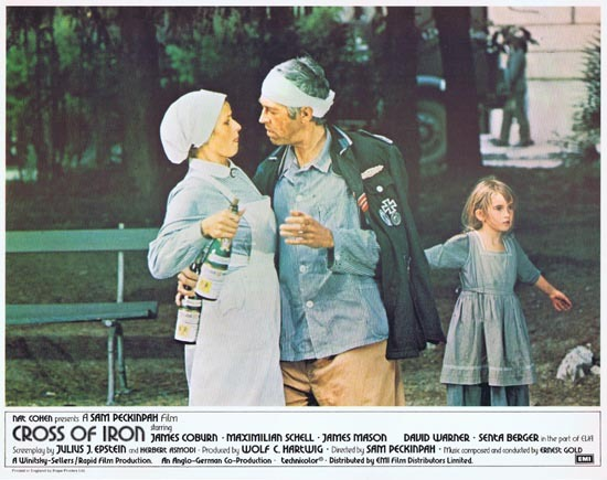 CROSS OF IRON Lobby card 7 1977 Sam Peckinpah James Coburn