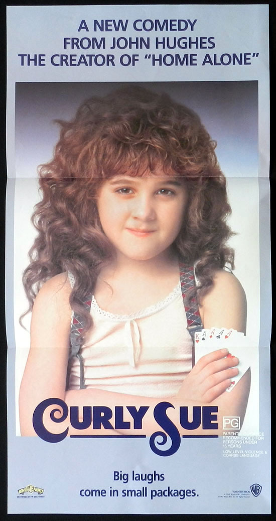 CURLY SUE,Australian Daybill, Movie poster, John Hughes