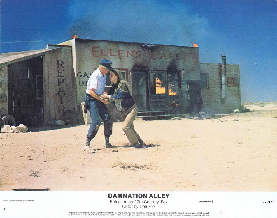 Damnation Alley, Jack Smight, Jan-Michael Vincent, George Peppard, Dominique Sanda, Paul Winfield, Jackie Earle Haley