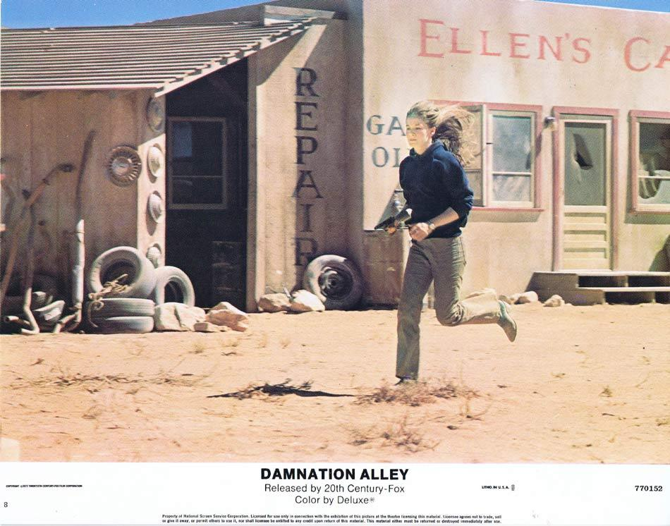 DAMNATION ALLEY Lobby Card 8 Jan-Michael Vincent George Peppard
